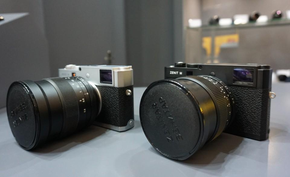 Новая российская цифровая камера Зенит М стала сенсацией крупнейшей выставки фототехники Photokina 2018
