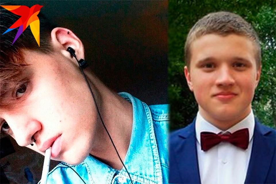 Андрей (справа) и Максим погибли в кафе, залитым кипятком.