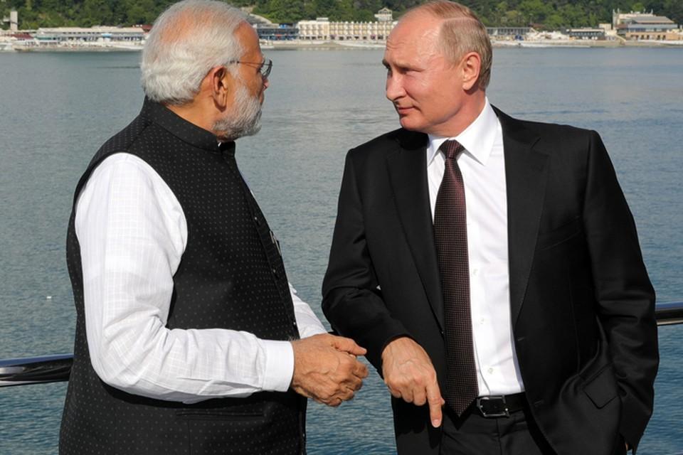 Индийские газеты пишут, что Моди уже заготовил Путину символический подарок