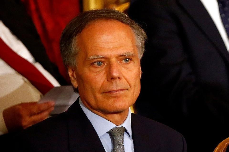 Глава МИД Италии Энцо Моаверо-Миланези