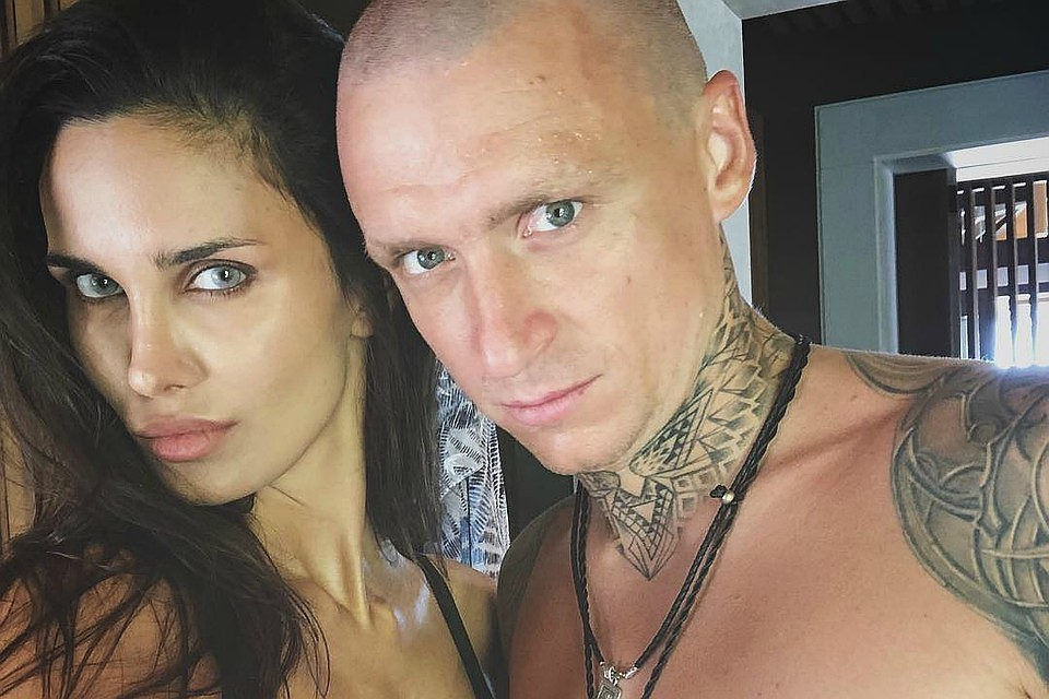 Алана Мамаева с мужем футболистом. Фото: Инстаграмм Аланы Мамаевой