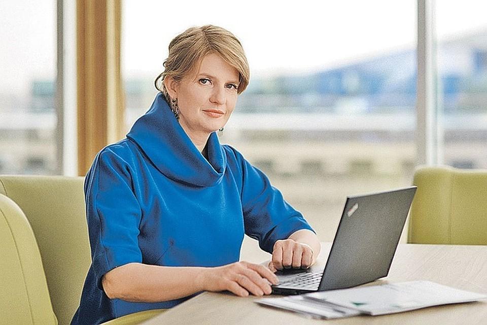 Наталья Касперская не выходит в интернет через Wi-Fi в кафе - хакерам к ней подобраться непросто. Фото: Личный архив