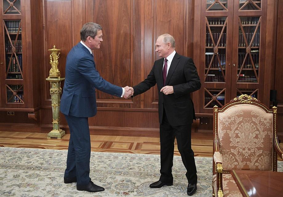 11 октября Владимир Путин назначил двух и.о. глав регионов. Алексей Дружинин/пресс-служба президента РФ/ТАСС