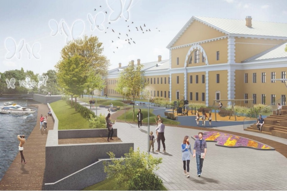 Новые парки и пешеходные зоны: как преобразится Санкт-Петербург в 2019 году. ФОТО: Правительство Санкт-Петербурга