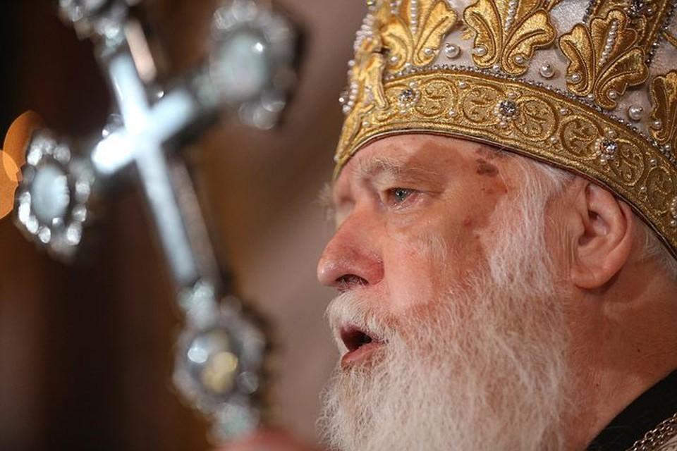 Украинский патриарх Филарет. Фото: Михаил Палинчак пресс-служба президента Украины ТАСС