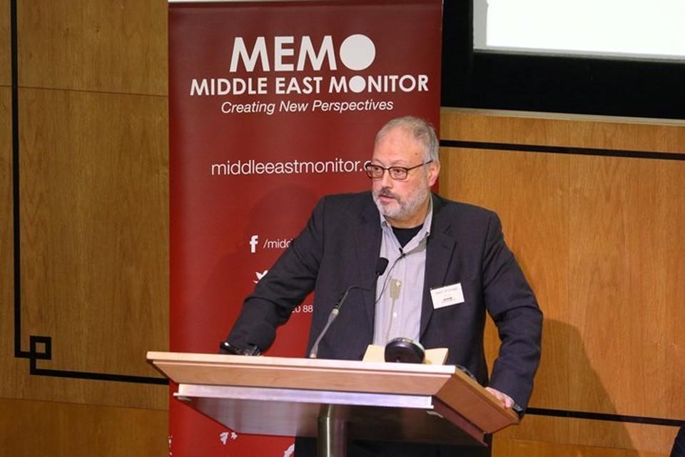 Саудовский журналист Джамаль Хашкаджи