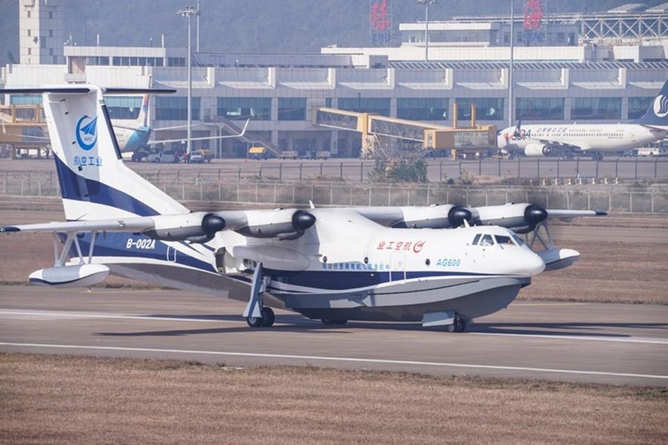 Крупнейший в мире самолет-амфибия «Цзилун» (AG600)