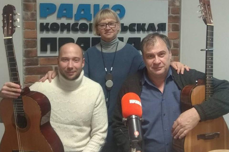 """Гости """"Коммуналки"""" Павел Галич и Максим Кривошеев"""