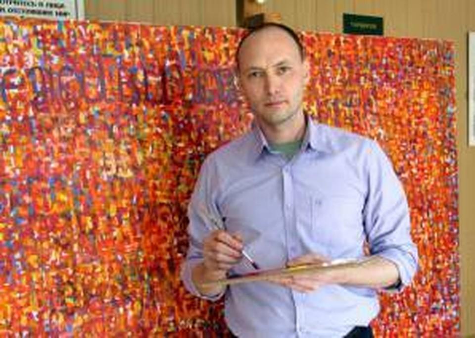 Марат Джамалетдинов будет работать над полотном прямо в фойе краеведческого музея