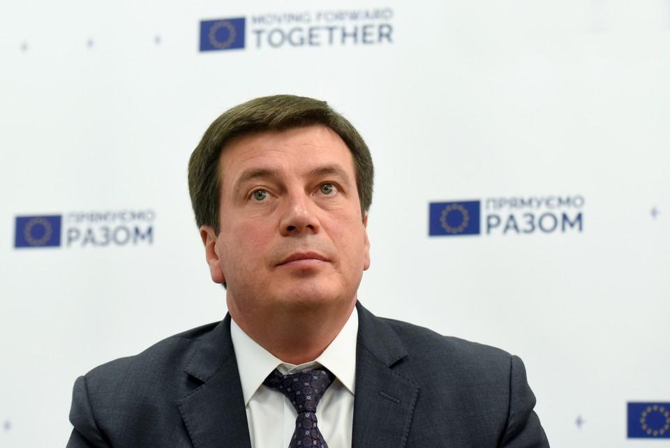 Украинский вице-премьер Геннадий Зубко