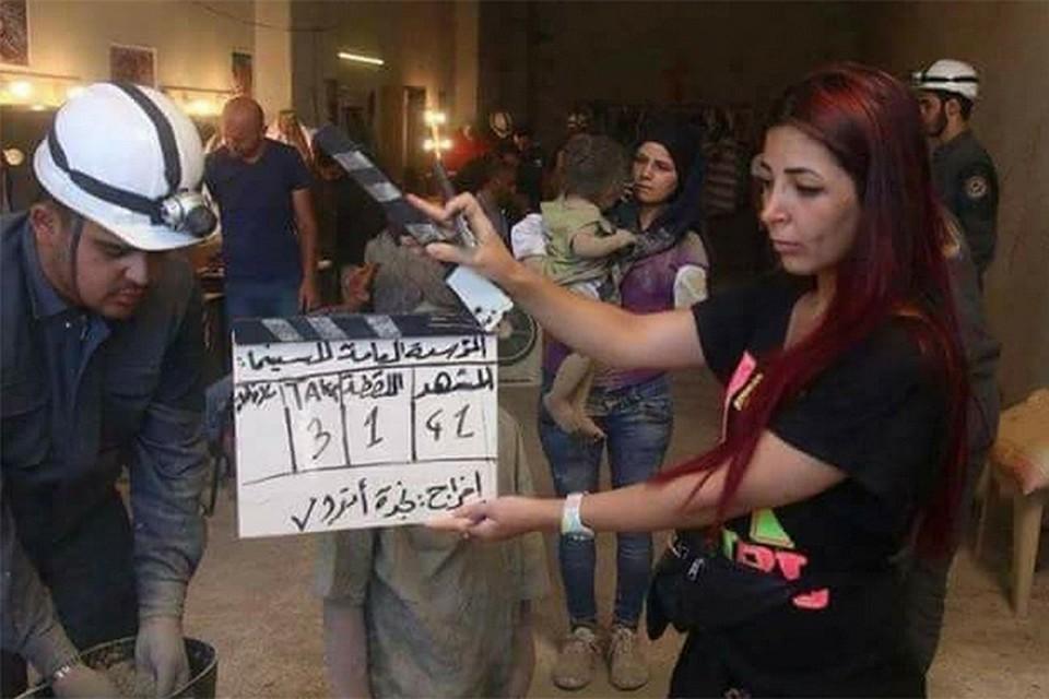 «Белые каски» инсценируют в Сирии химическую атаку