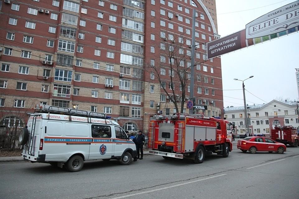 В центре Перми из-за пожара в 14-этажном доме эвакуированы 25 человек 5c4ec336d6a