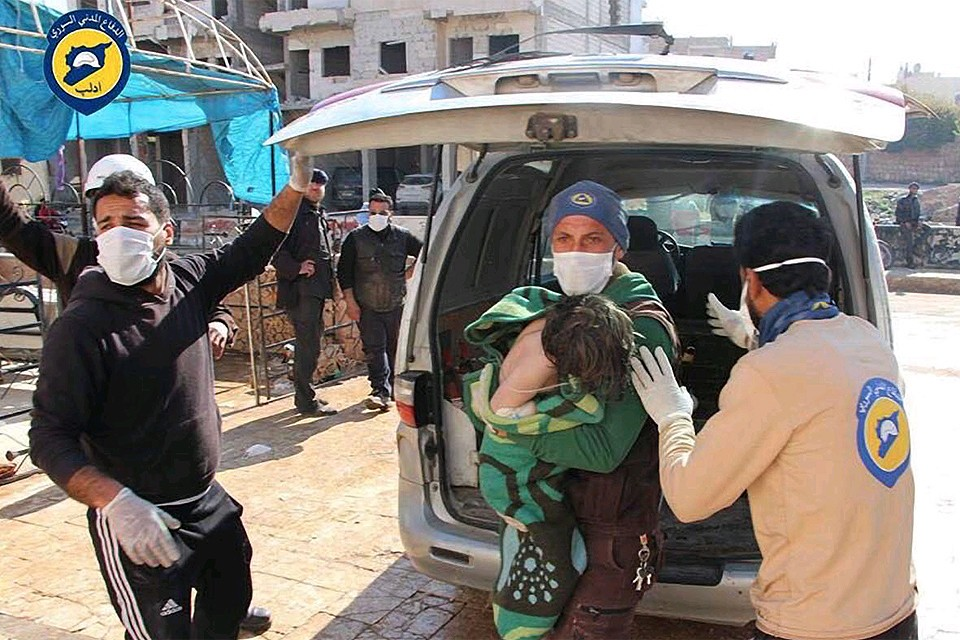 """Оскароносные """"Белые каски"""" готовят новую провокацию в Сирии."""