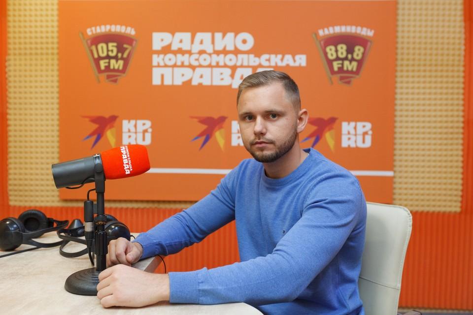Акушер-гинеколог, врач СККБ Степан Бавыкин