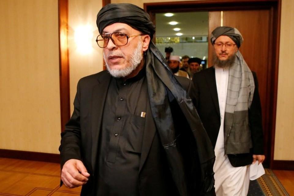 Глава делегации запрещенного в России радикального движения «Талибан» Шер Мохаммад Аббас Станакзай