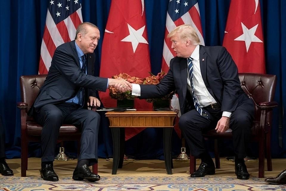 Трамп и Эрдоган обсудили убийство журналиста Хашукджи на ужине в Париже