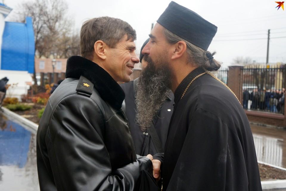 Сердечная встреча: епископ Мефодий и генерал-майор Концевой