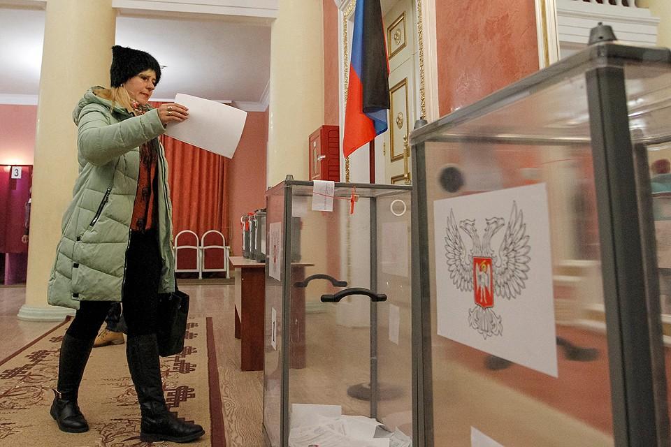 Выборы местных властей прошли в непризнанных республиках Донбасса 11 ноября.