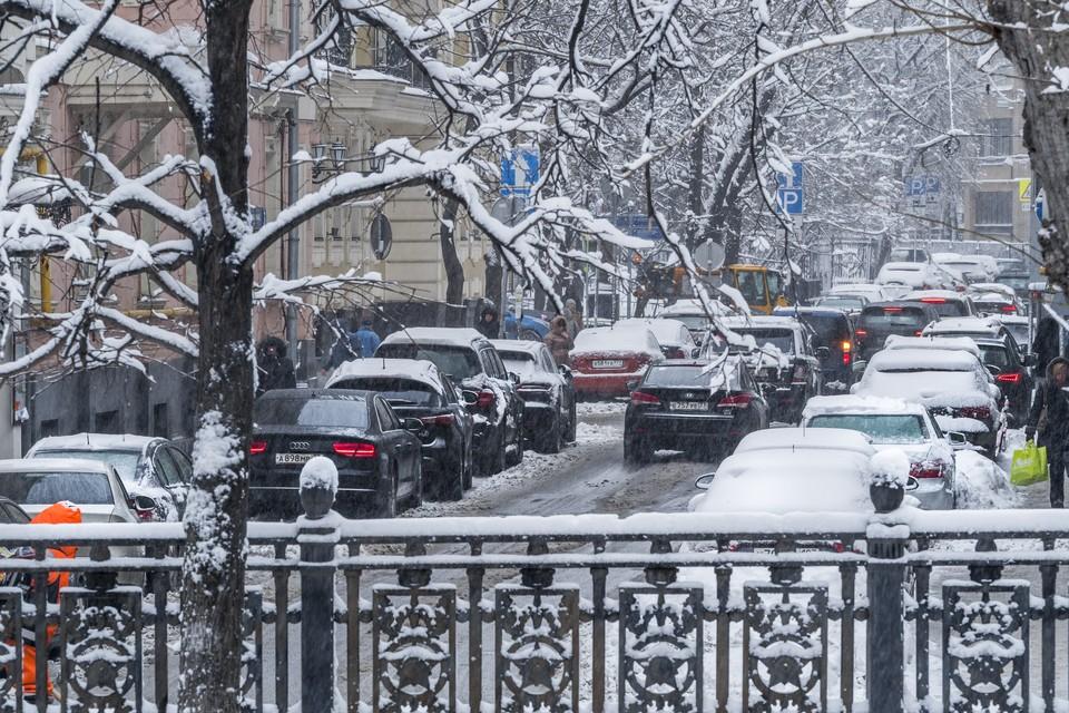 В Москве ожидается гололедица