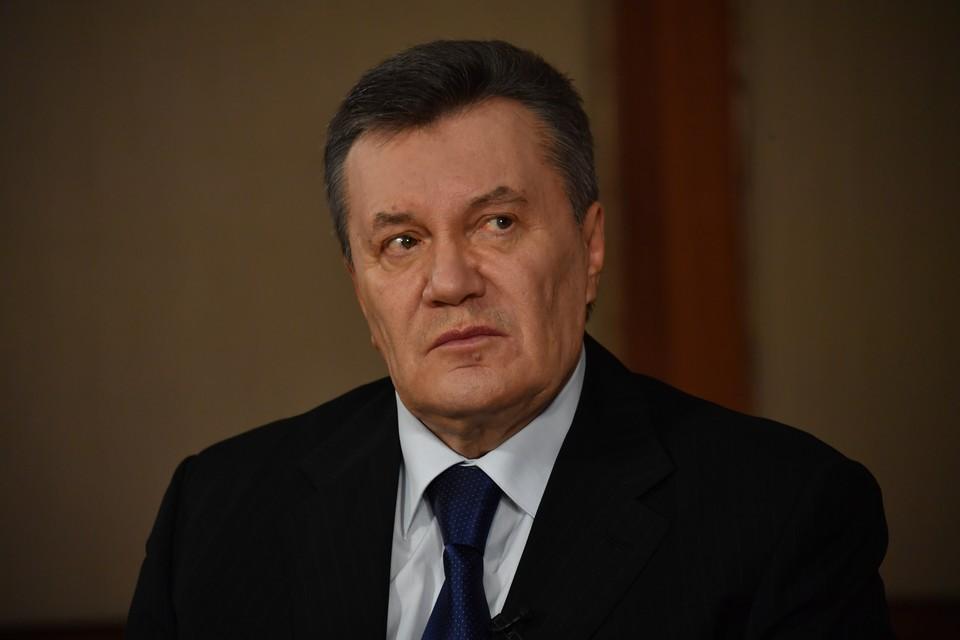Бывший президент Украины Янукович получил серьезные травмы