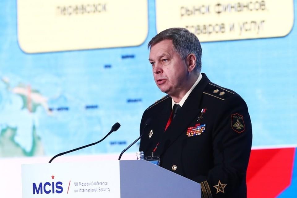 Вице-адмирал Игорь Костюков. Фото: Станислав Красильников/ТАСС