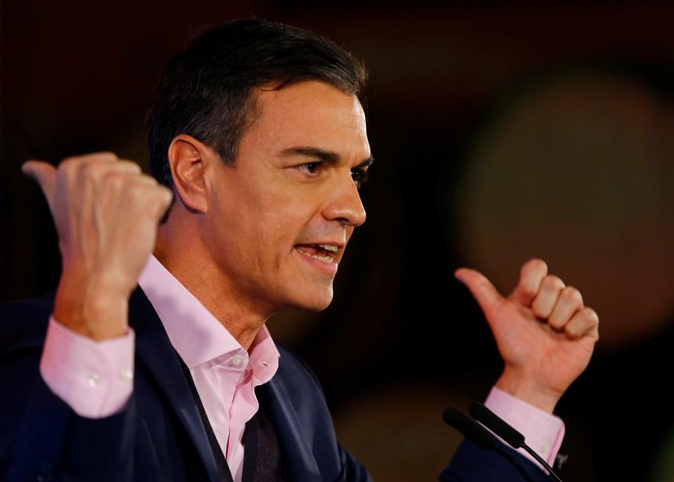 Премьер Испании Педро Санчес