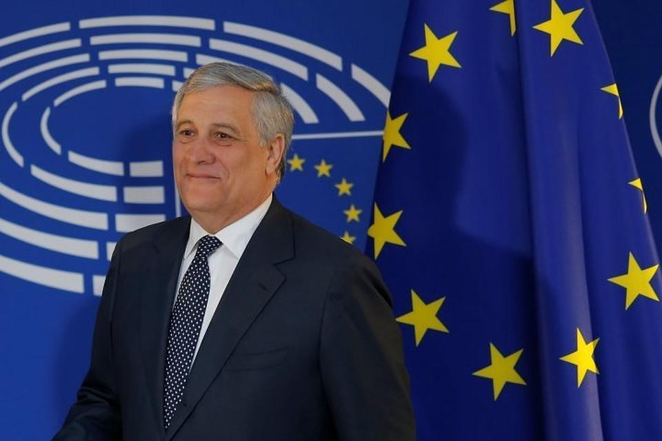 Председатель Европейского парламента Антонио Таяни
