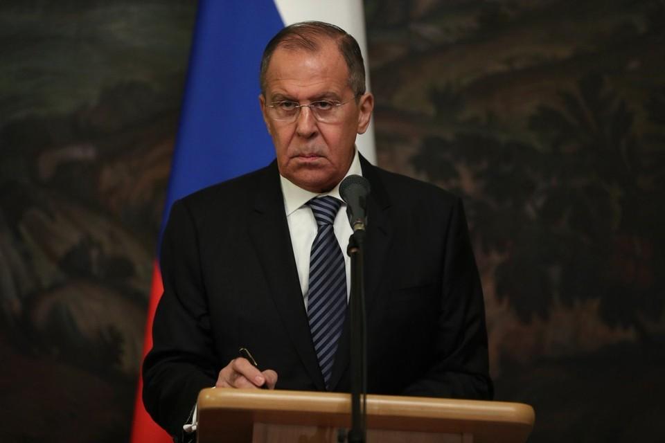 Сергей Лавров был вынужден прервать свое посещение форума ЮНЕСКО