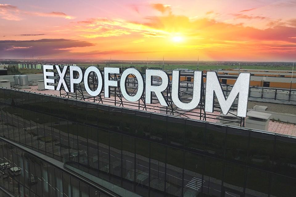 Экспофорум в районе Пулково построили в рекордно короткие сроки.