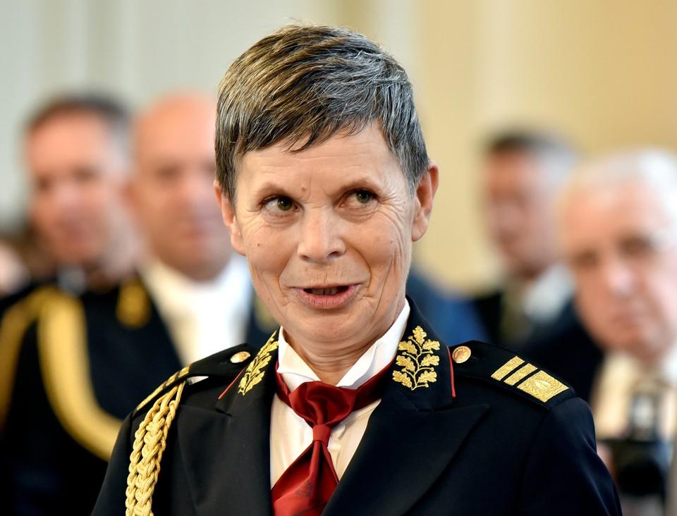 Генерал-майор Аленка Эрменц