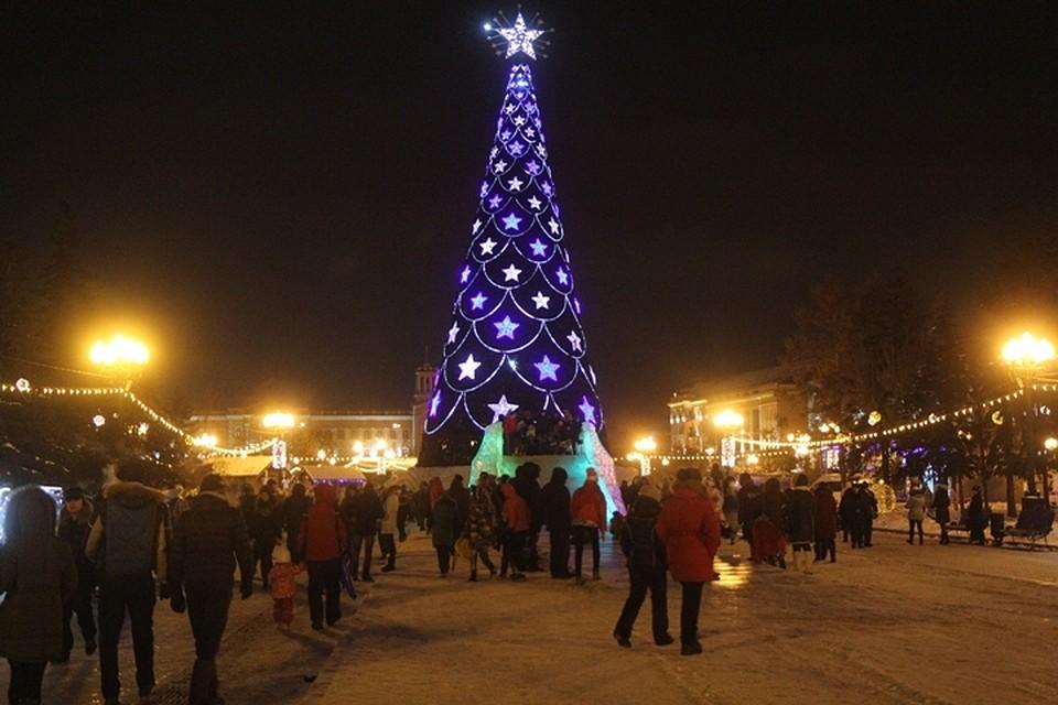 Главная елка Иркутска 2019 откроется 22 декабря, а ледяной городок  превратится в театр fa0e746ec07