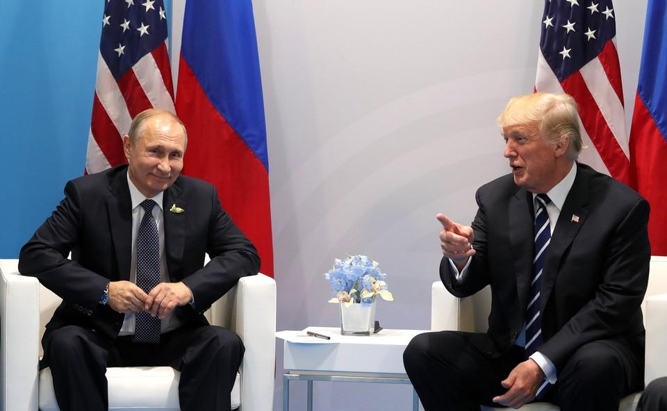 На встречу Путина и Трампа на G20 отвели больше двух часов