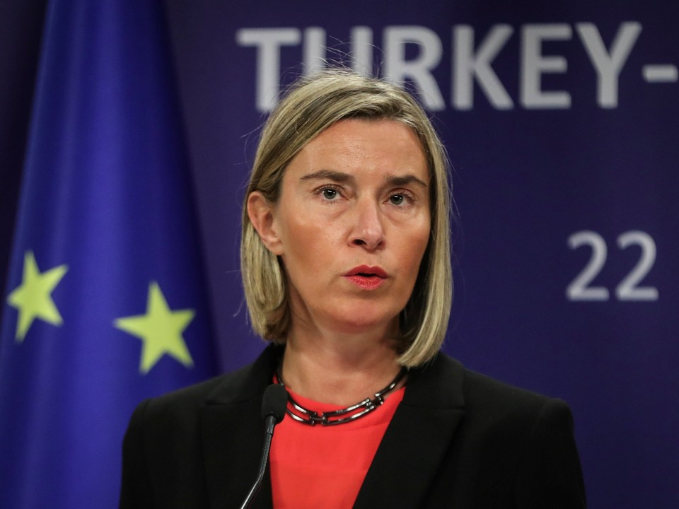 Глава дипломатии ЕС Федерика Могерини заявила, что ЕС выступает за ограничения на использование автономных вооружения.