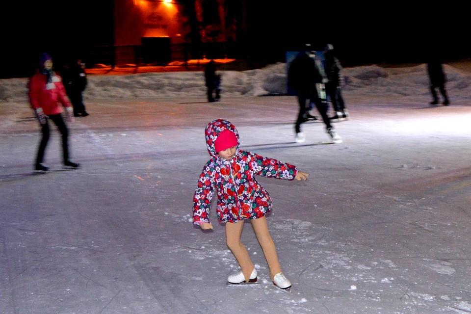 В Липецке открывается сезон катания на коньках