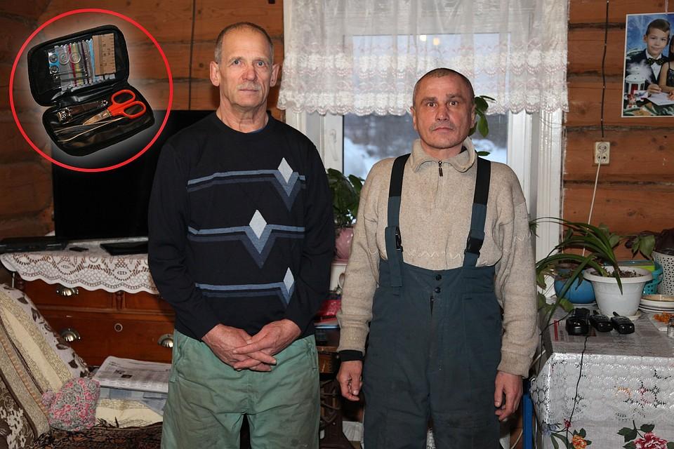 Геннадий Александрович (справа) и Геннадий Иванович