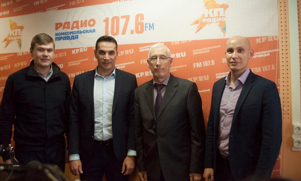 Иван Маринин, Дмитрий Сурнин, Павел Безматерных и Сергей Пермяков