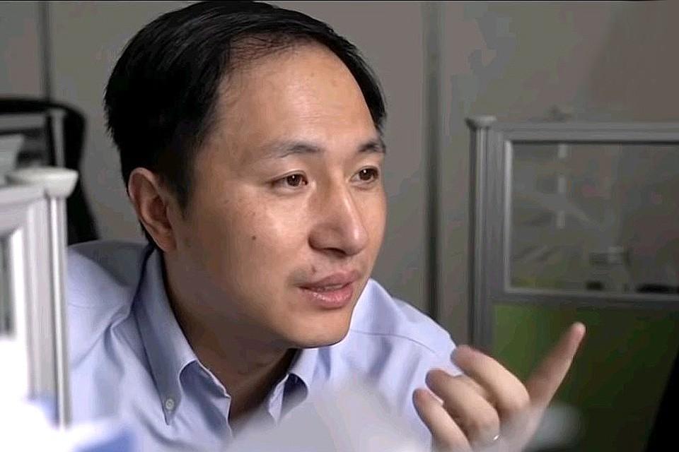 Китайский ученый Хэ Цзянкуй.