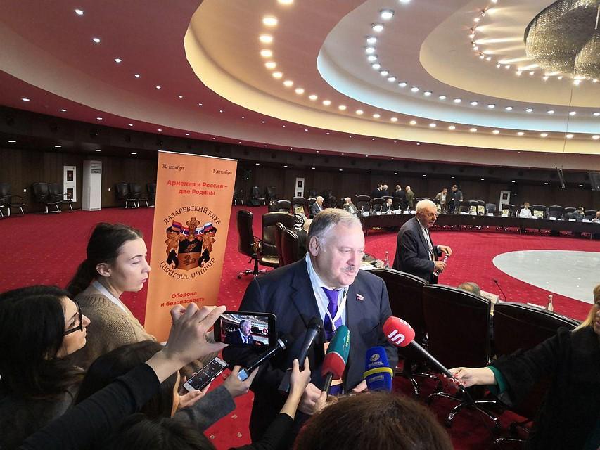Константин Затулин: У Еревана слова расходятся с делом