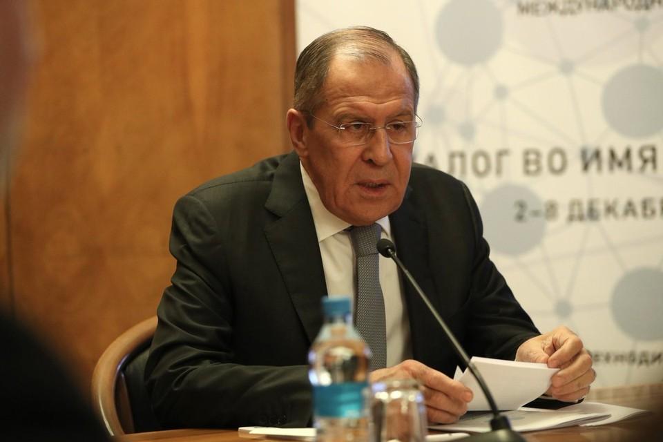 Лавров рассказал о притеснении русскоговорящих за границей