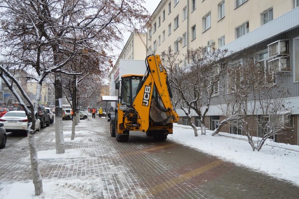 В Липецке обещают снег с дождем
