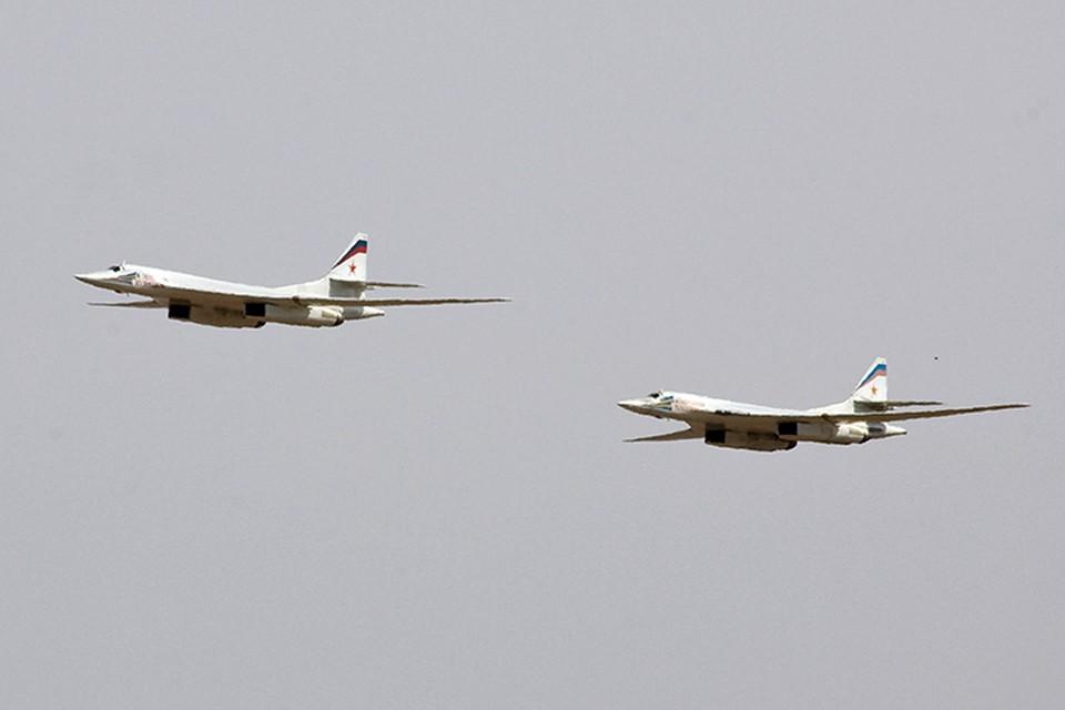 Самолеты отечественных ВКС прилетели в Каракас в воскресенье, чтобы принять участие в совместных полетах с венесуэльцами