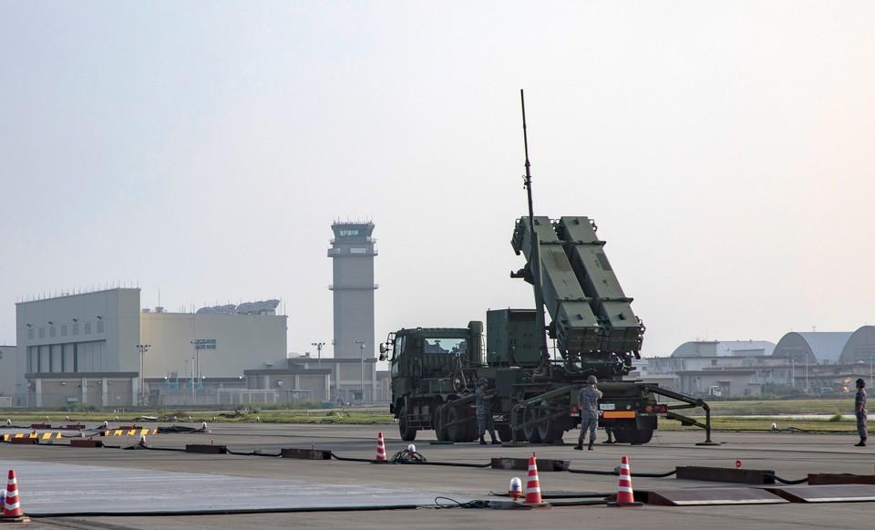 Американский противоракетный комплекс MIM-104 Patriot