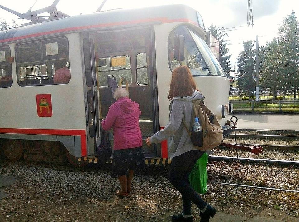 Может быть когда-нибудь жители еще смогут прокатиться на трамвае