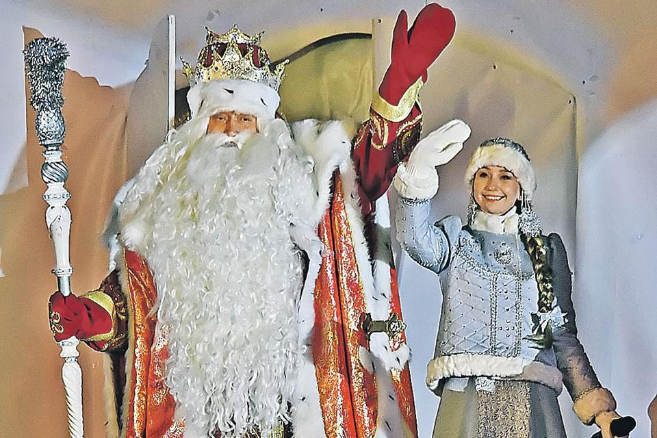 Главный российский Дед Мороз вместе со Снегурочкой прописаны в Вологодской области - в городе Великом Устюге.