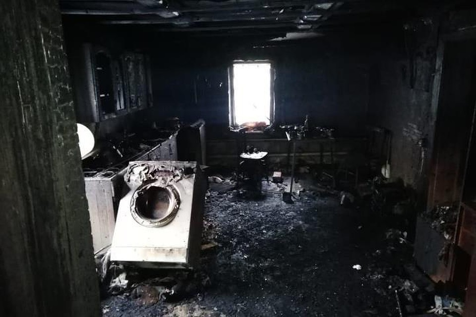 в орске при пожаре в жилом доме погибли семь человек