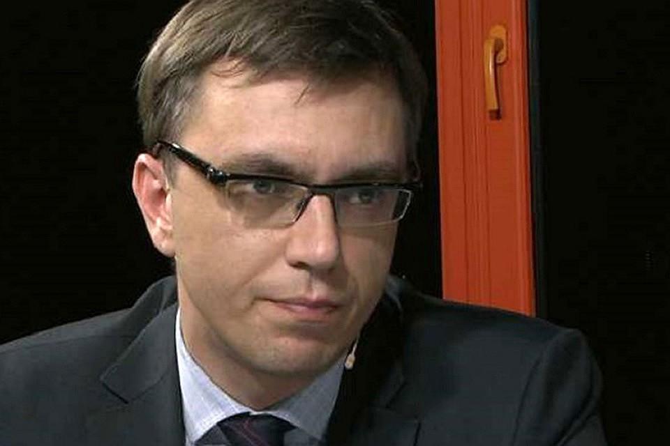 Министр инфраструктуры Украины Владимир Омелян