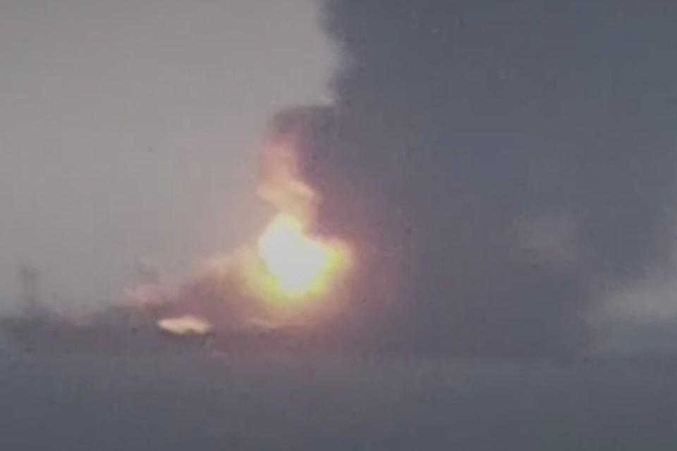 Фото: скриншот из видео очевидцев