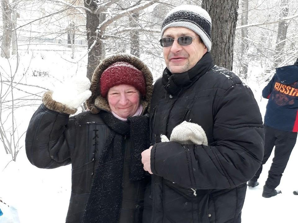 Виталий и Елена. Фото: проект «Другая медицина».
