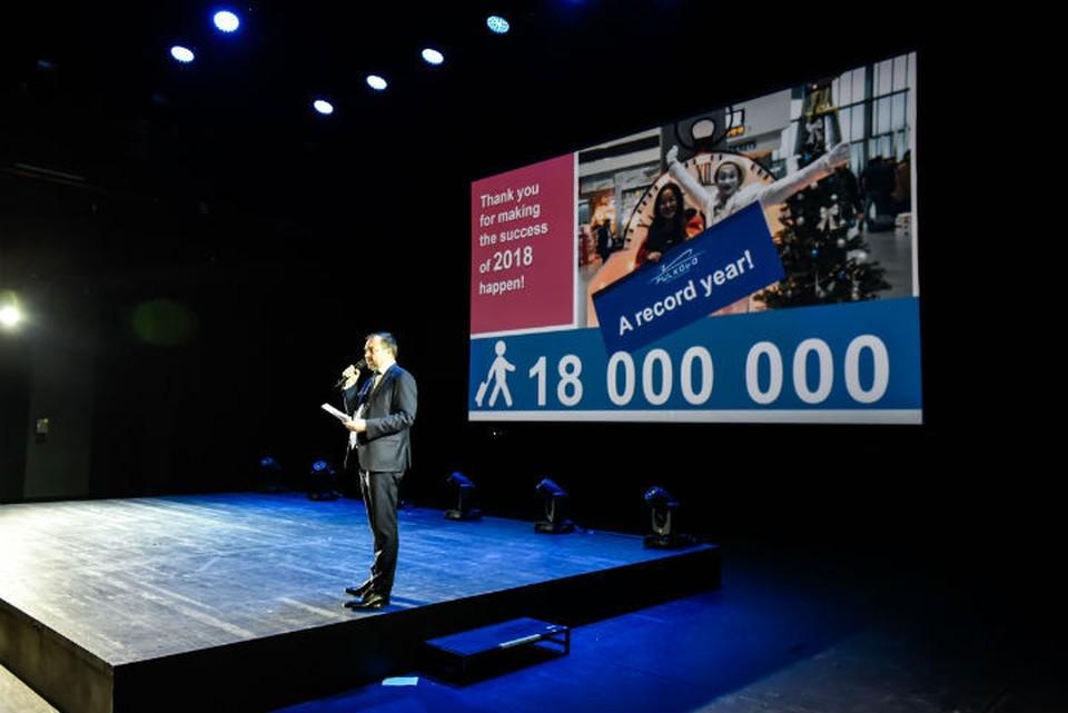 В 2018 году Пулково обслужил рекордные 18,1 млн человек.