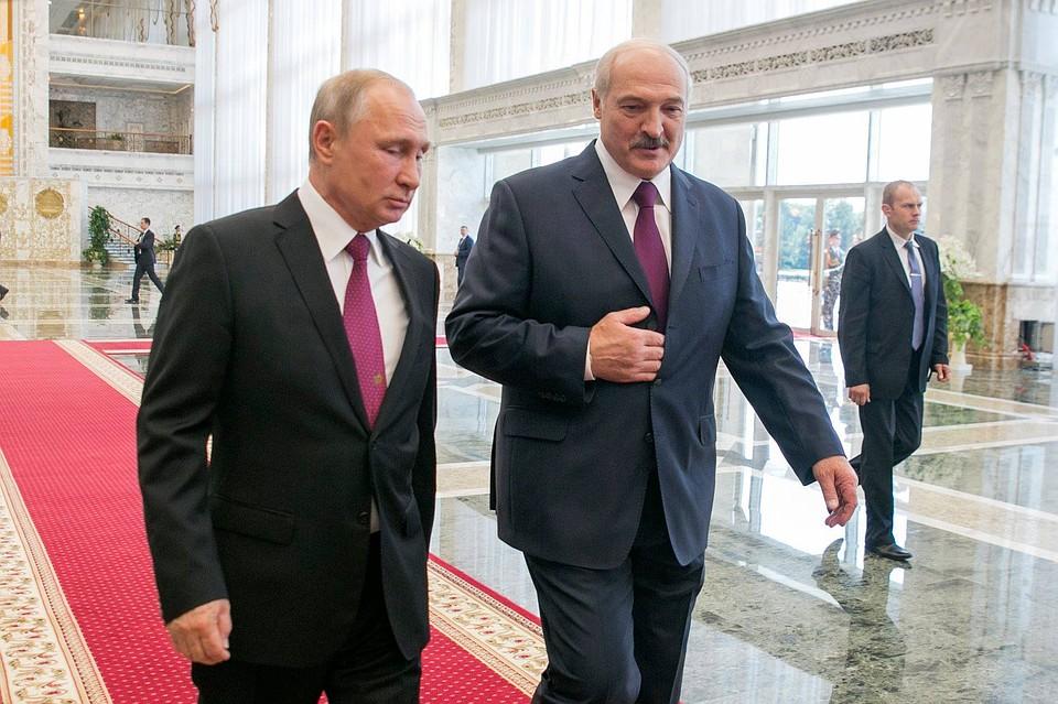 Путин и Лукашенко созвонились